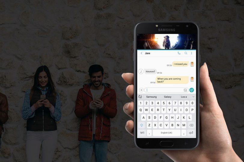 Samsung Galaxy J4 (תמונה: Comfy)