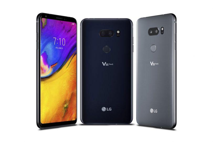 LG V35 ThinQ (באדיבות LG אלקטרוניקס)