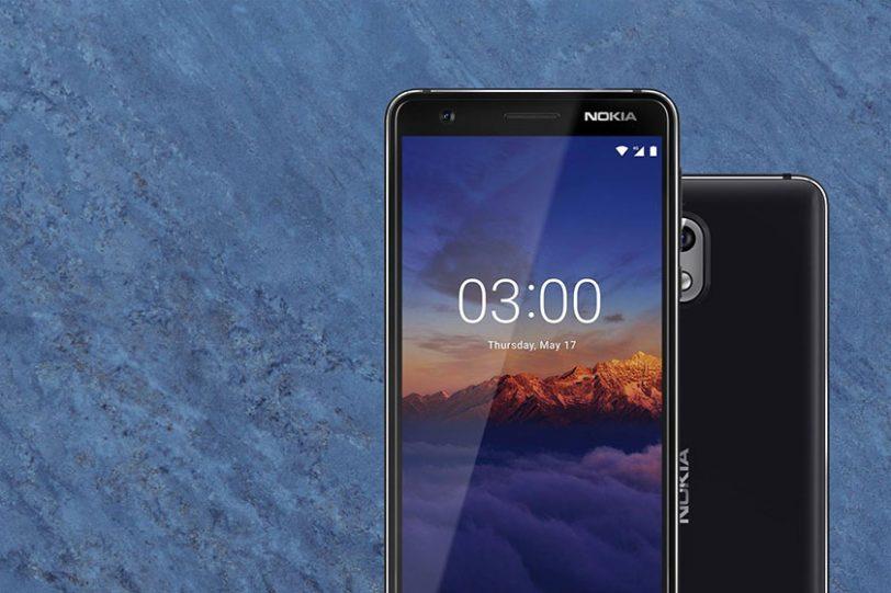 Black/Chrome Nokia 3.1 (תמונה: נוקיה)