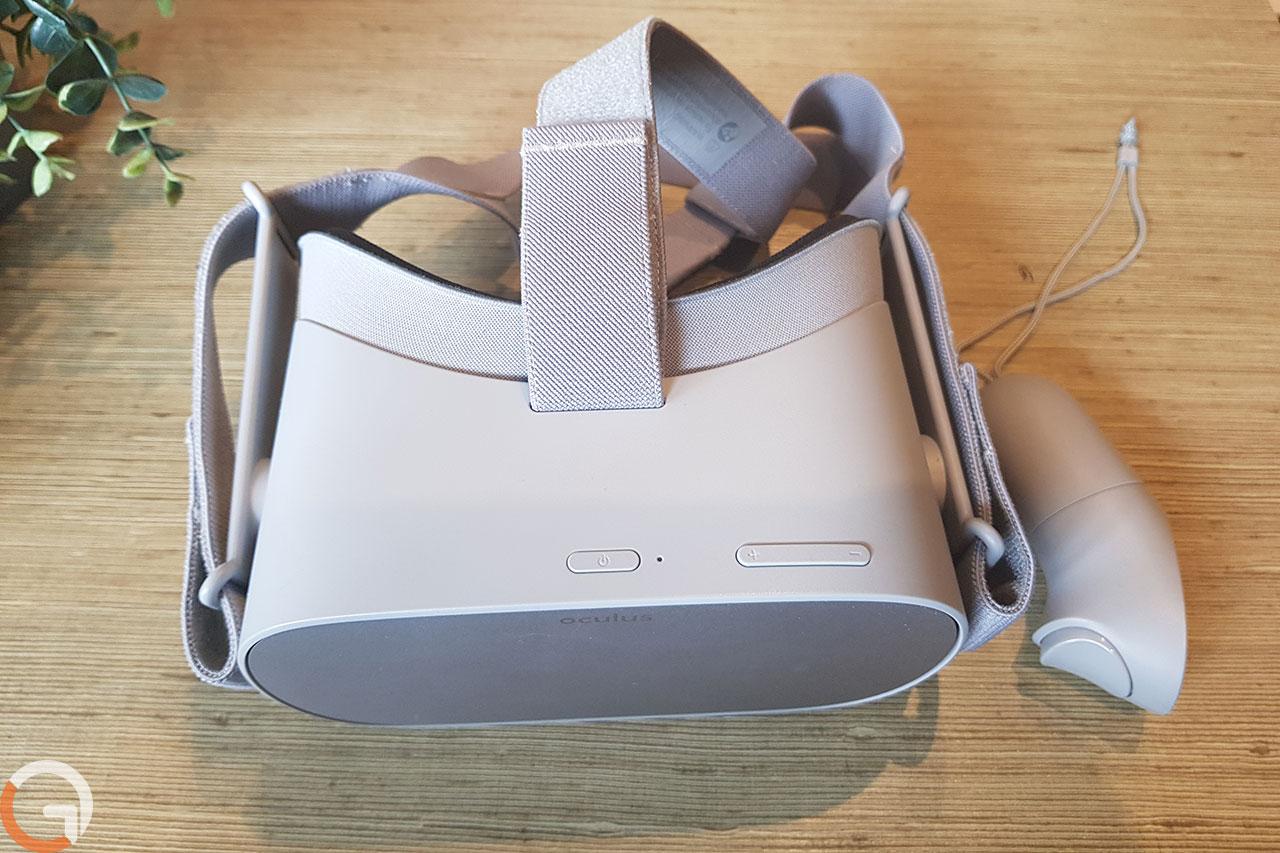 משקפי Oculus Go (צילום: אורי אליאבייב, גאדג'טי)