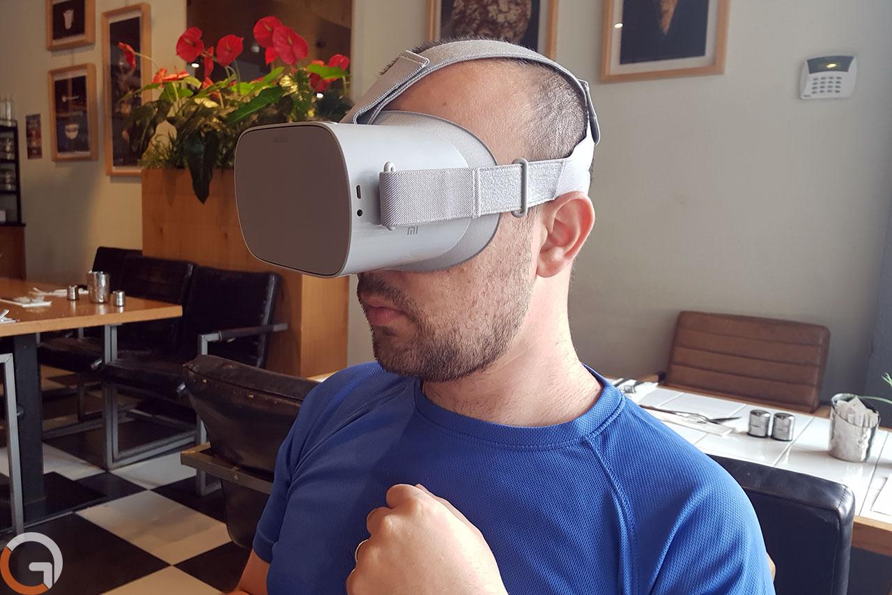 משקפי Oculus Go (צילום: רועי מונין)