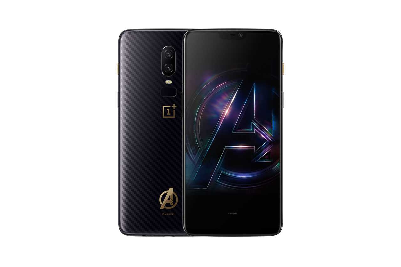 OnePlus 6 Avengers Special Edition