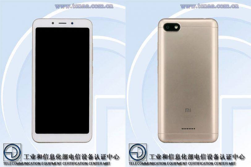 Xiaomi Redmi 6A (תמונה: TENAA)