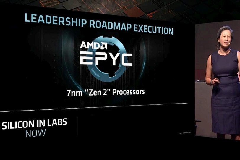 מעבד EPYC עם ZEN2 (מקור AMD)