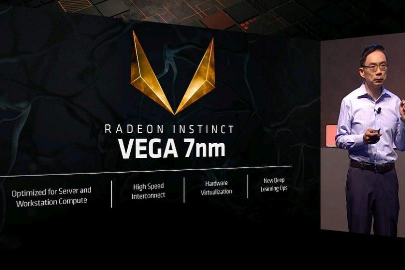 Radeon Instinct Vega 7nm (מקור AMD)