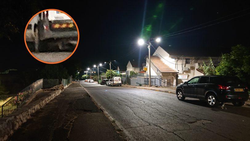 צילום רחוב בלילה