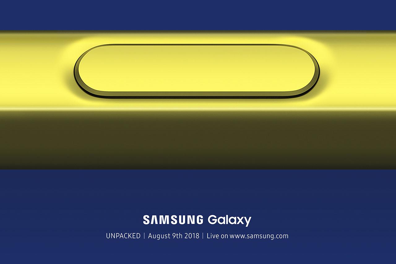 הזמנה לאירוע Galaxy Unpacked 2018 (באדיבות סמסונג)
