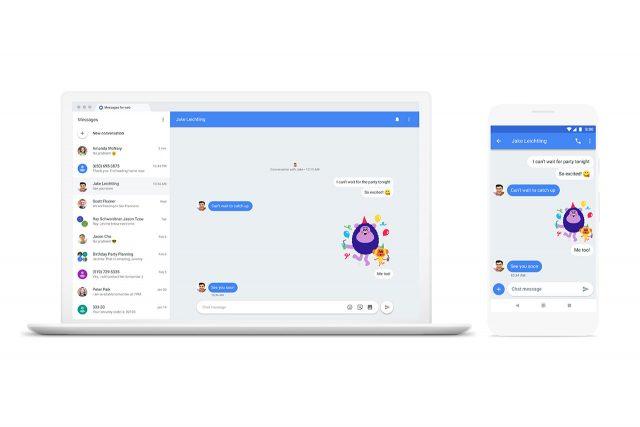 גוגל מאפשרת קבלה ומשלוח הודעות SMS דרך אפליקציית Messages גם במחשב