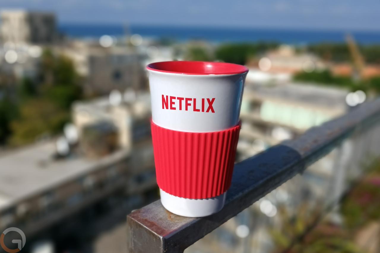 כוס של נטפליקס