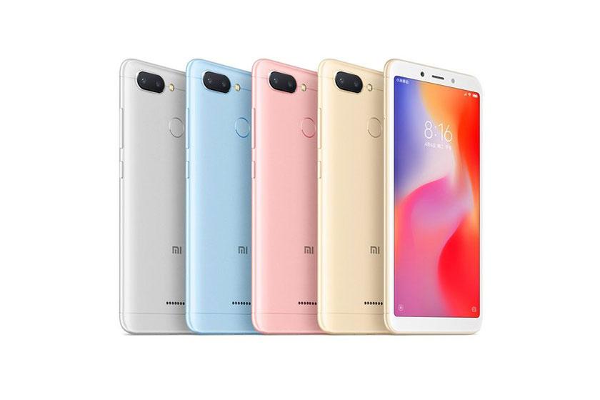 Xiaomi Redmi 6 (תמונה: Xiaomi)