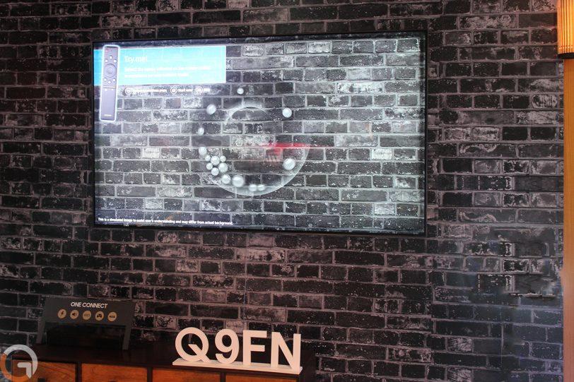 טלוויזיה Samsung QLED Q9FN (צילום: רונן מנדזיצקי, גאדג'טי)