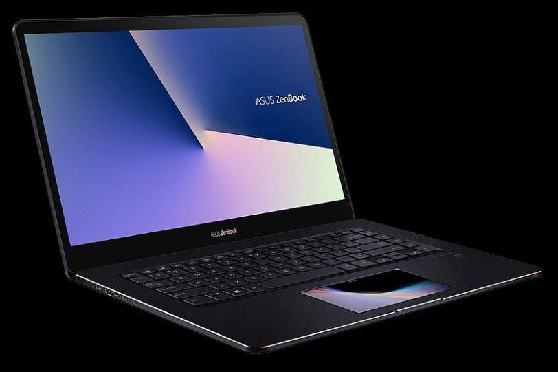 מבט צדדי - נייד ZenBook Pro UX580 (מקור אסוס)
