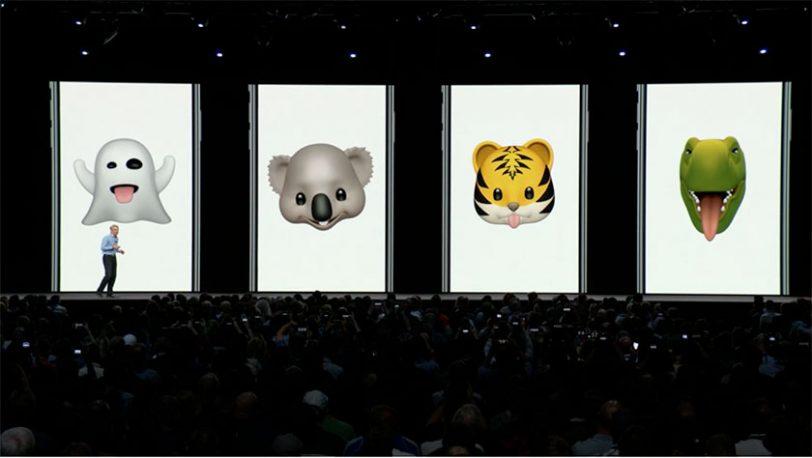 דמויות אנימוג'י חדשות ב-iOS 12 (תמונה: Apple)