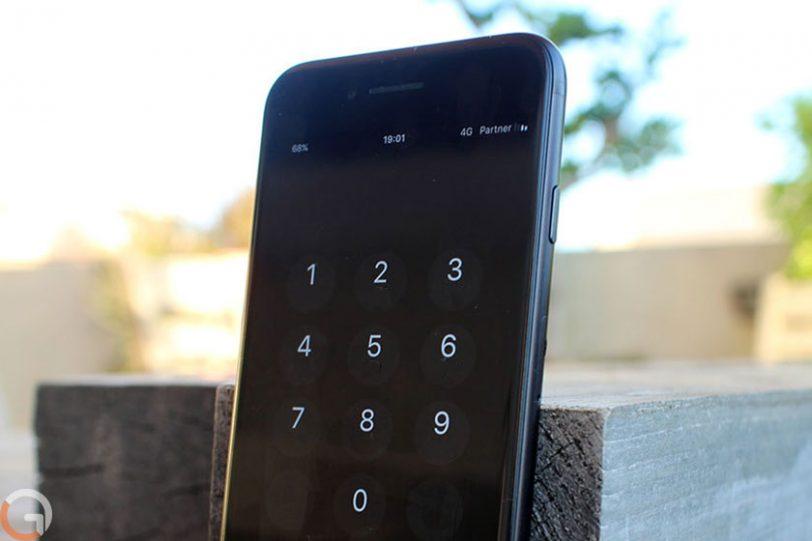אייפון עם iOS 11 (צילום ועיבוד: רונן מנדזיצקי, גאדג'טי)