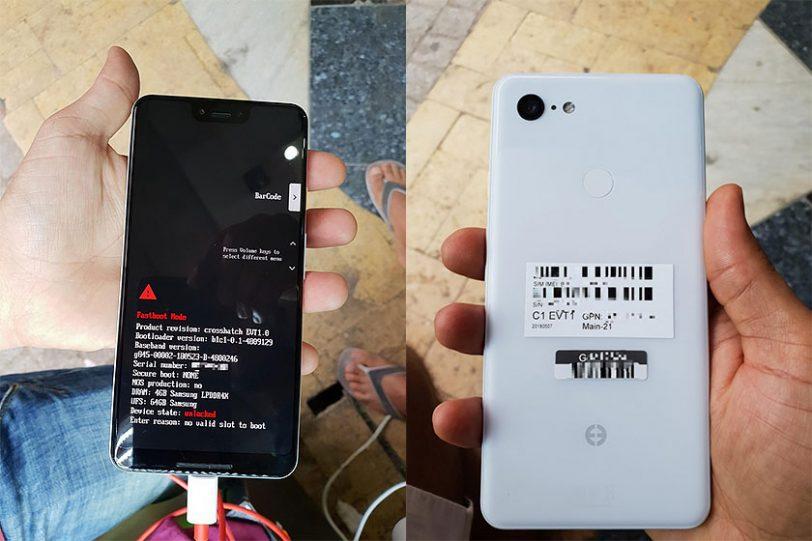 Google Pixel 3 XL White (תמונה: XDA)