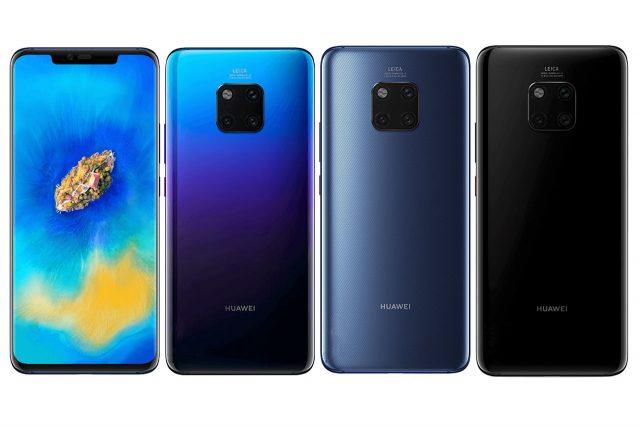 הוכרז: Huawei Mate 20 Pro – עם טעינה אלחוטית ואנדרואיד 9.0 פאי