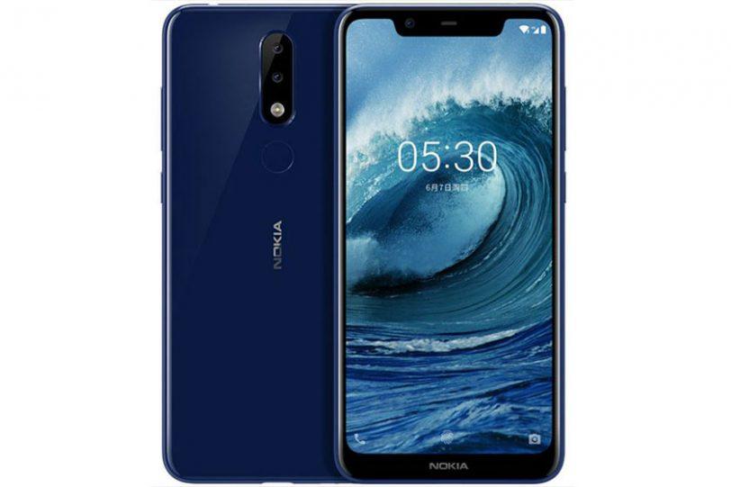 Nokia 5.1 Plus/Nokia X5 (תמונה: baidu)