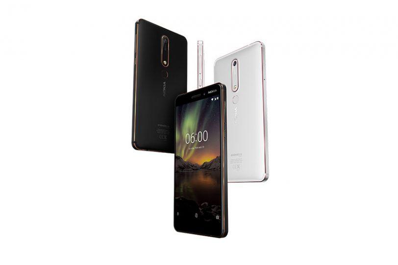 "Nokia 6.1 (תמונה: יח""צ נוקיה \ HMD)"