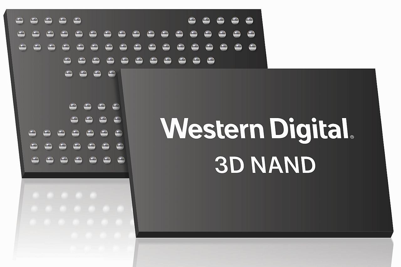 זכרונות 3D NAND מבית WD