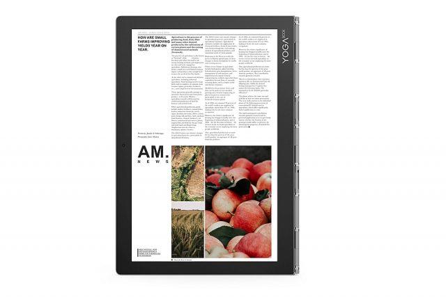 תצוגת LCD - נייד Yoga Book C930 (מקור לנובו)