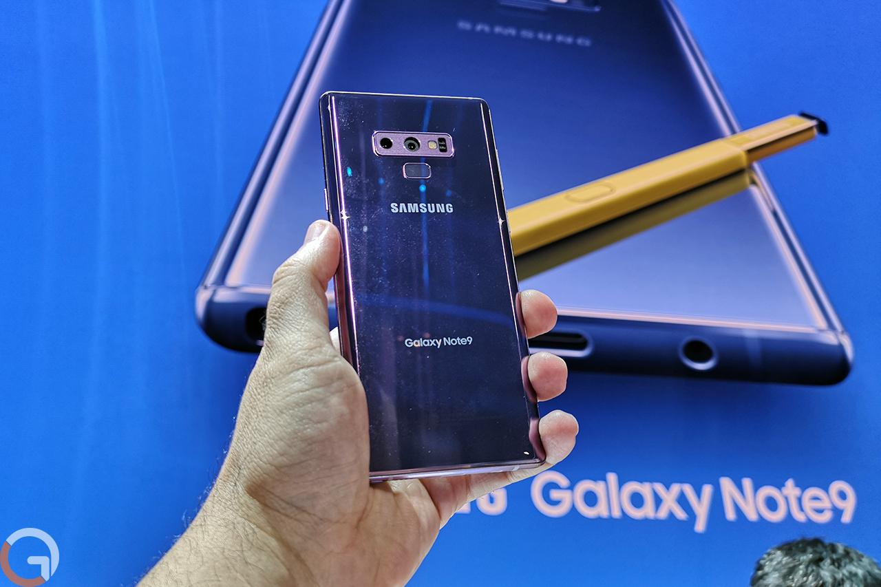 Galaxy Note 9 (צילום: רונן מנדזיצקי, גאדג'טי)