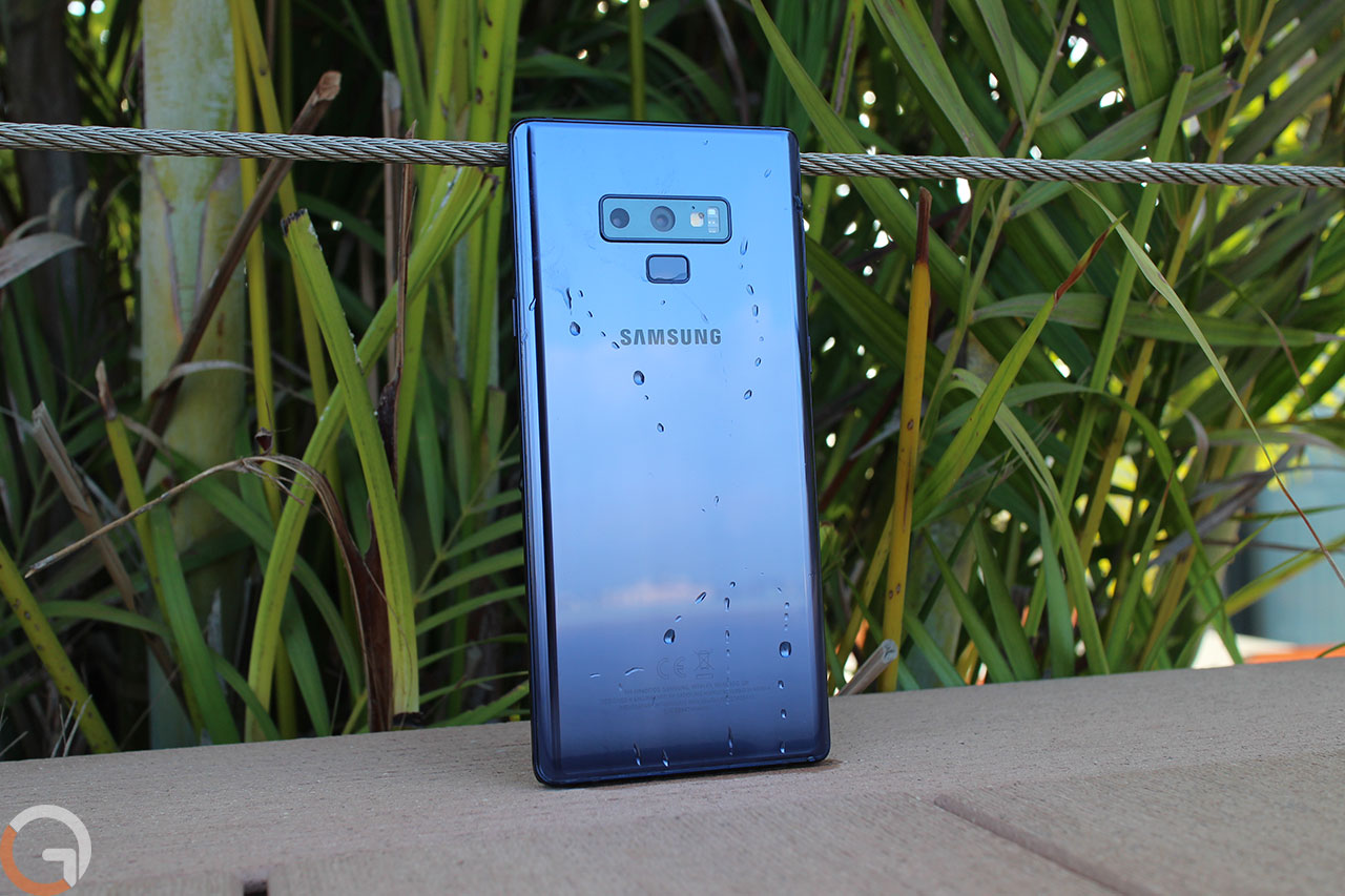 Samsung Galaxy Note 9 (צילום: רונן מנדזיצקי, גאדג'טי)