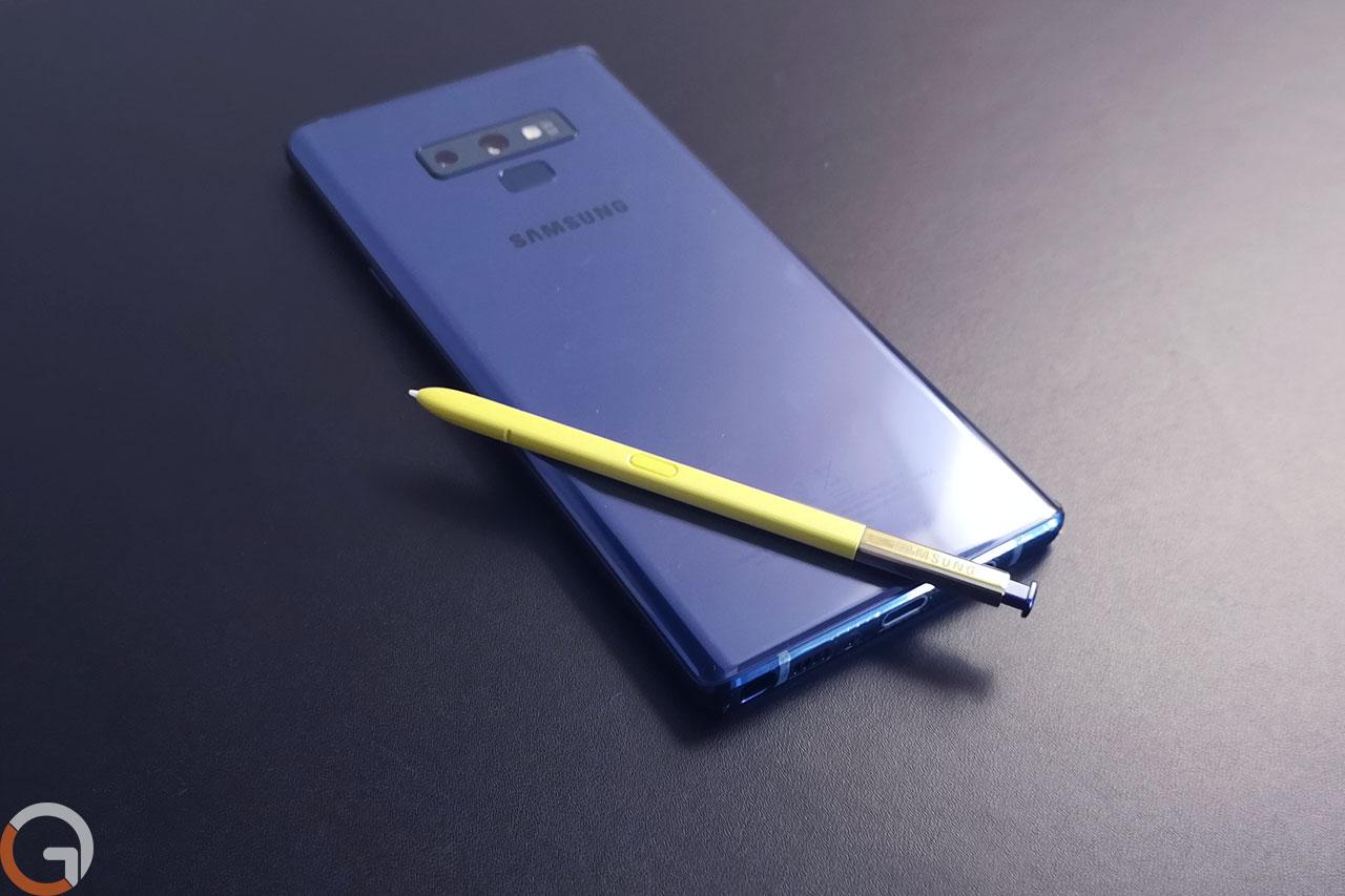 עט הסטיילוס של Galaxy Note 9 (צילום: רונן מנדזיצקי, גאדג'טי)