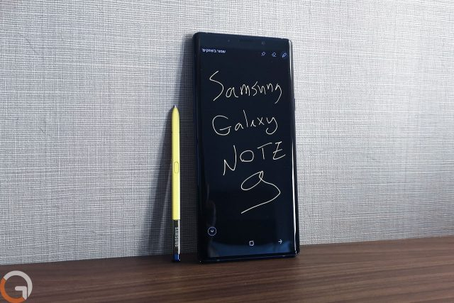 גאדג'טי מסקר: Samsung Galaxy Note 9 בפתיחת קופסה