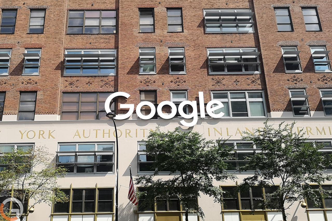 שלט לוגו גוגל