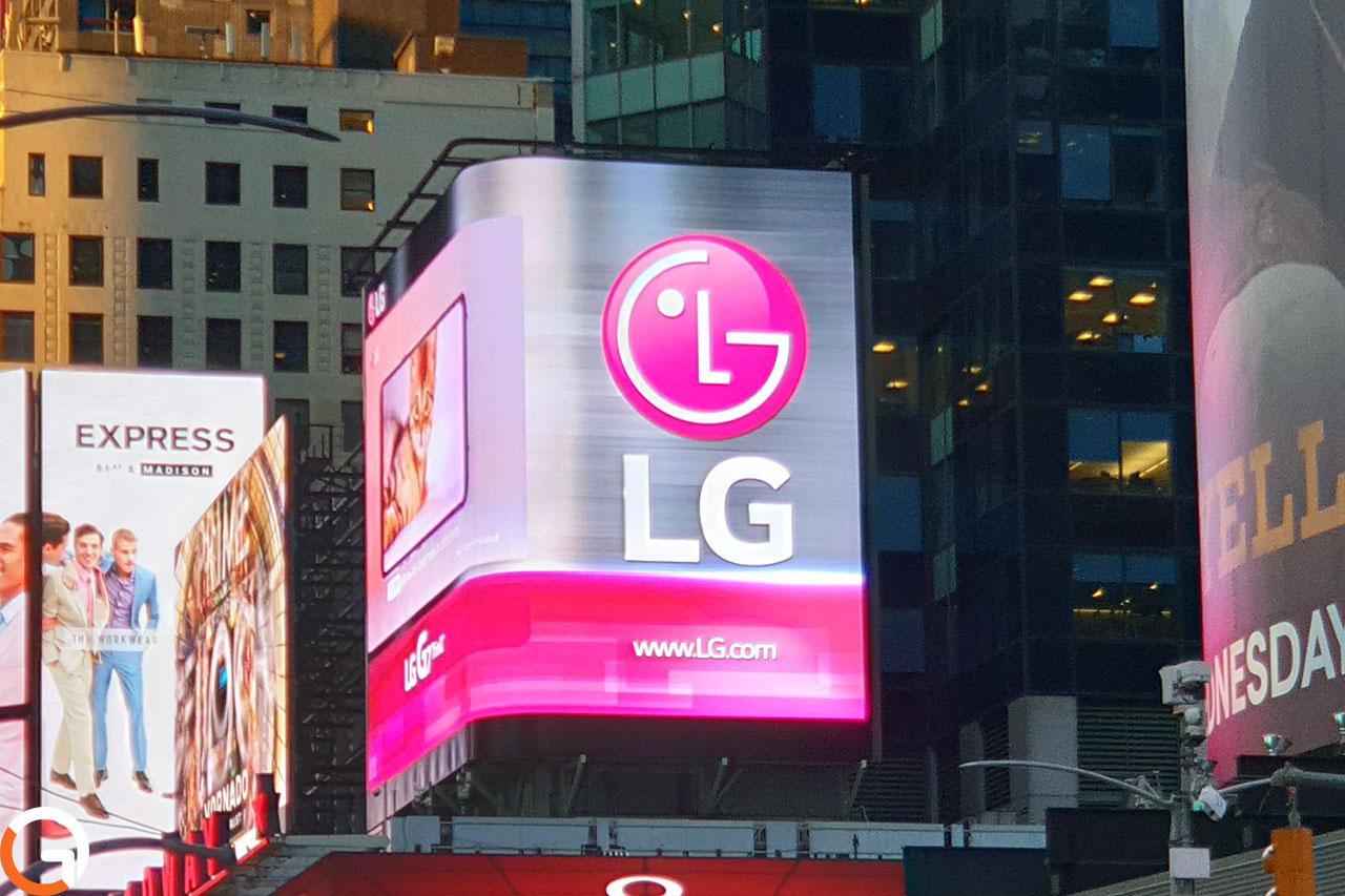שלט לוגו LG