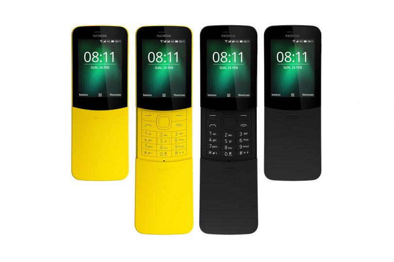 Nokia 8110 4G (תמונות: HMD Global)