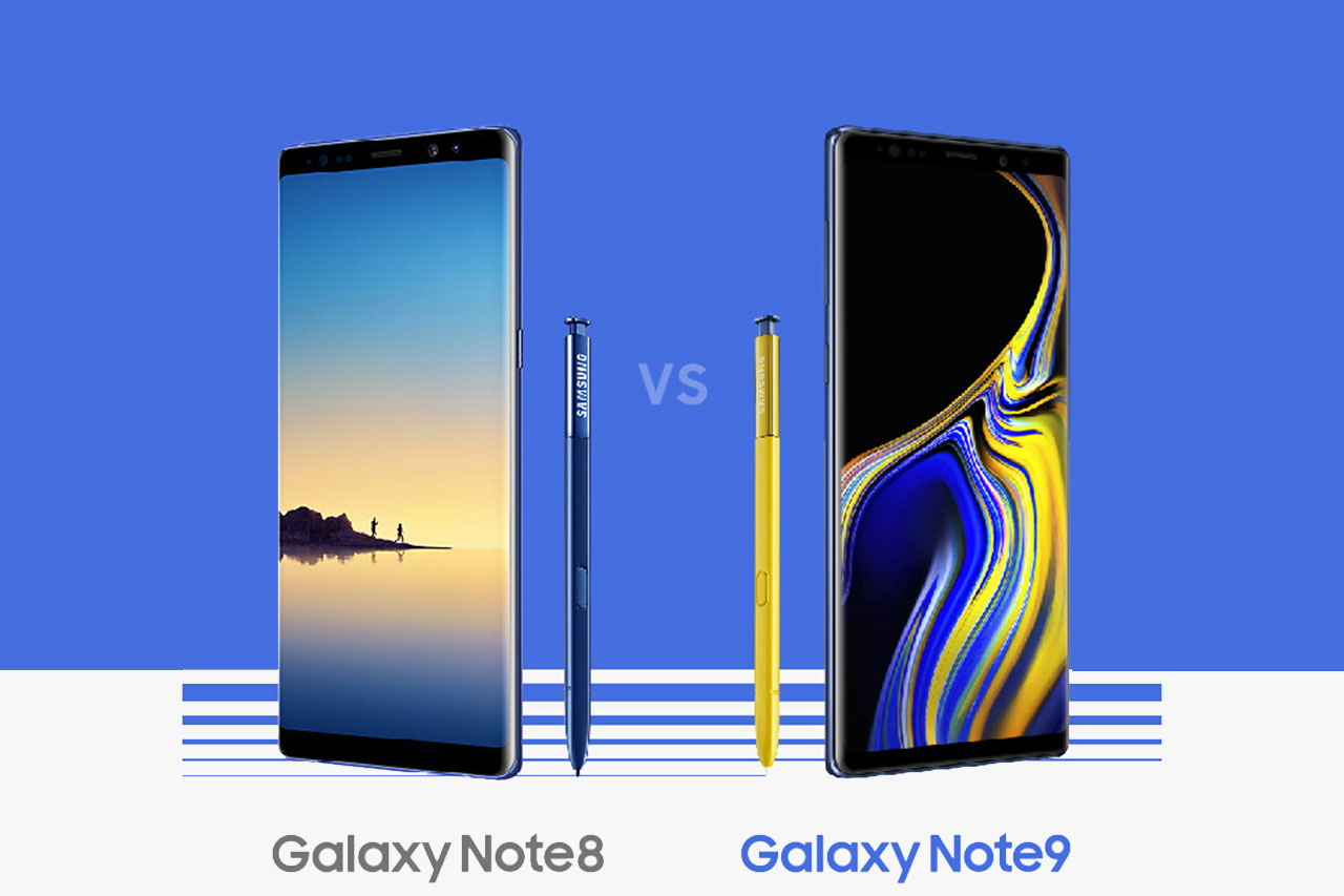 Galaxy Note 9 ו-Note 8 (תמונה: Samsung)