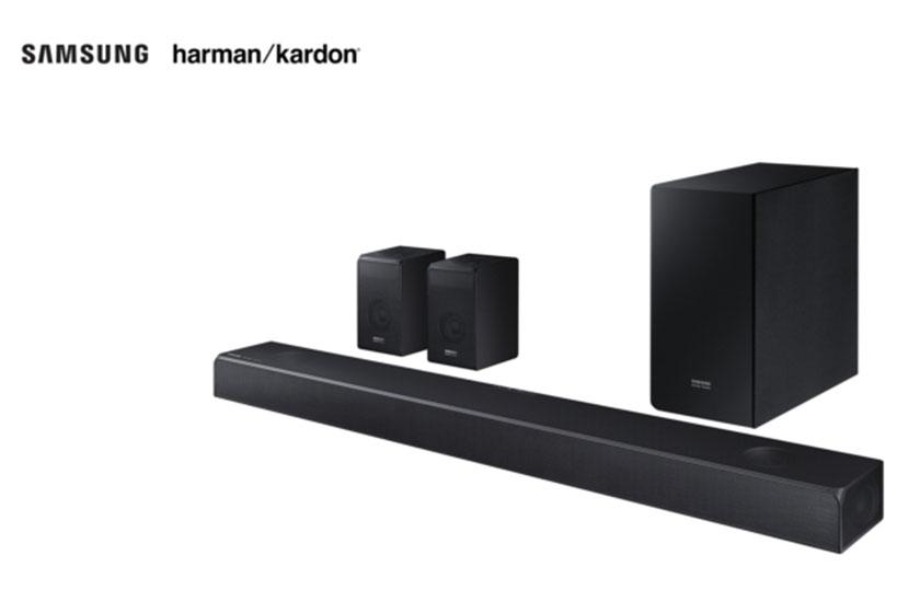 Samsung & Harman/Kardon Soundbar (תמונה: סמסונג)