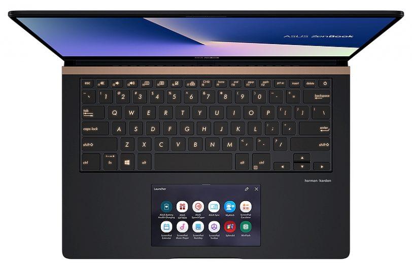מבט עליון - נייד ZenBook Pro 14 (מקור אסוס)