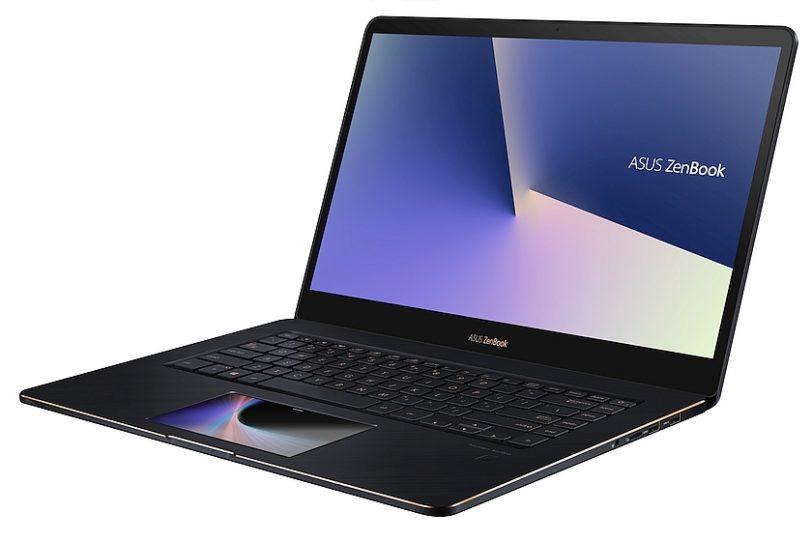 נייד ZenBook Pro UX580 - מבט צדדי (מקור אסוס)