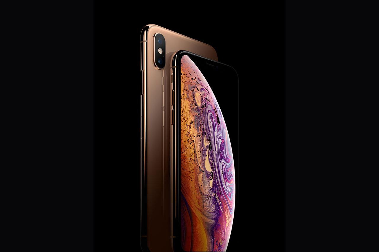 iPhone XS ו-iPhone XS Max (תמונה: Apple)