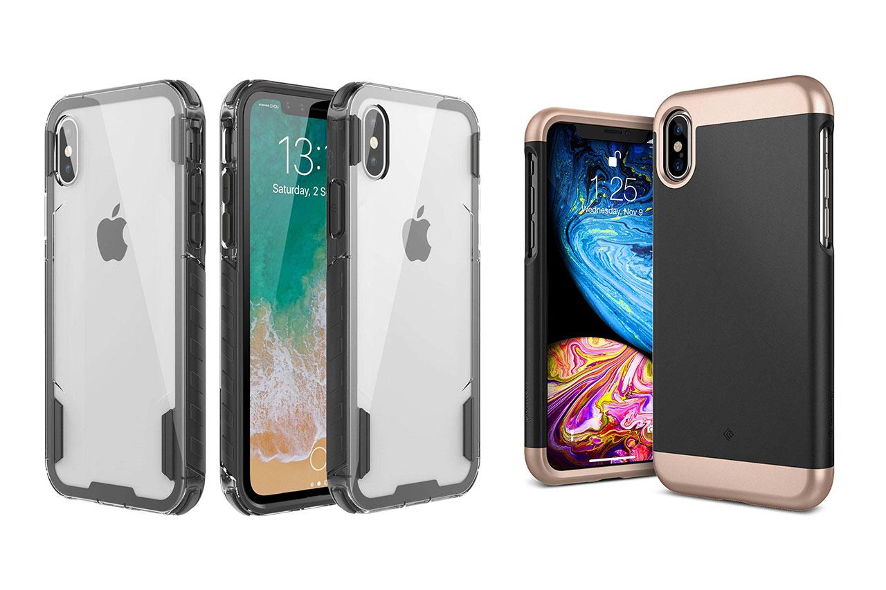 כיסויים ל-iPhone Xs (תמונות: Caseology ו-Zisure)