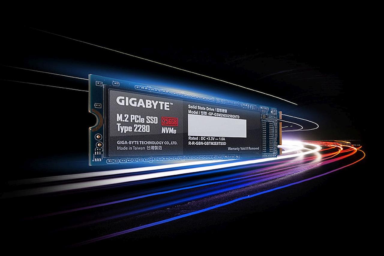 כונן SSD NVMe (מקור GIGABYTE)