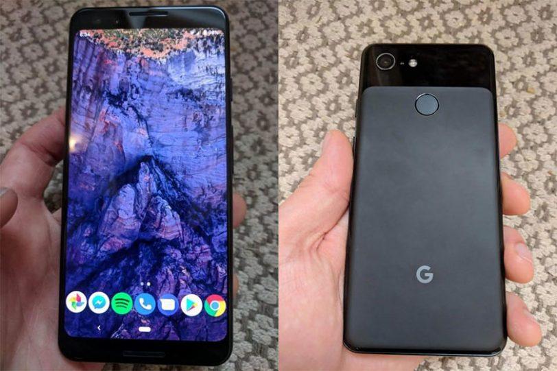Google Pixel 3 (תמונות: Imgur, Reddit)