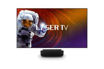 טלוויזיה HiSense LASER TV בגודל 100 אינץ' כולל סאב אלחוטי