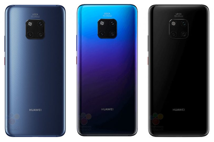 Huawei Mate 20 Pro Back (תמונות: WinFuture)