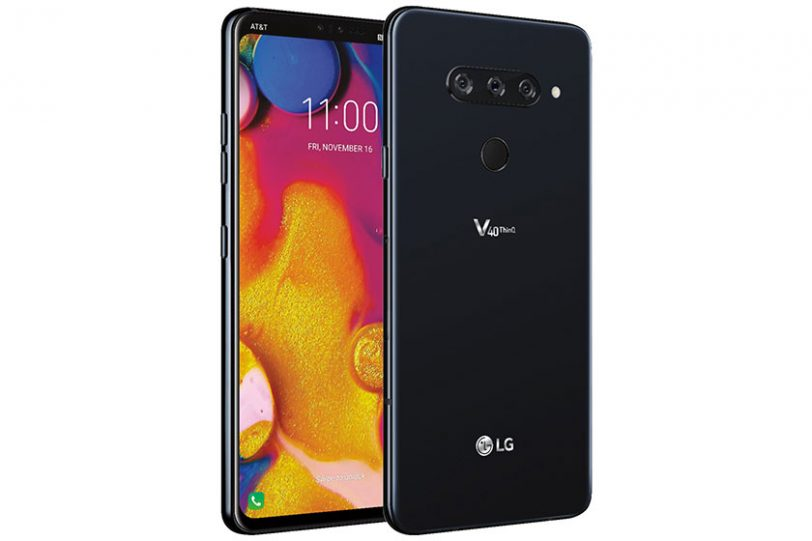 LG V40 ThinQ (תמונה: Evan Blass)