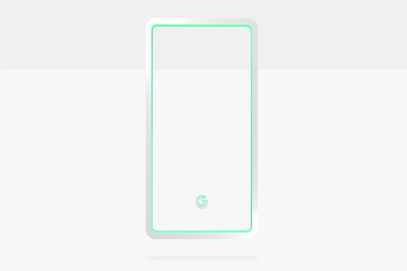 טיזר למכשיר הפיקסל 3 בצבע לבן (תמונה: גוגל)