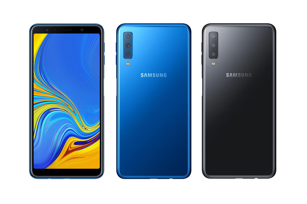 Galaxy A7 2018 (תמונה: Samsung)