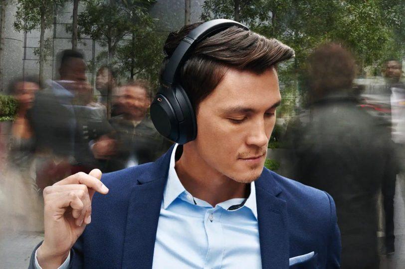 אוזניות 1000XM3 (מקור סוני)