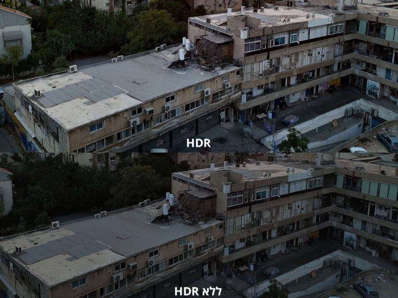 הדגמת מצב HDR ב-Xiaomi Mi A2 (צילומים: רונן מנדזיצקי, גאדג'טי)