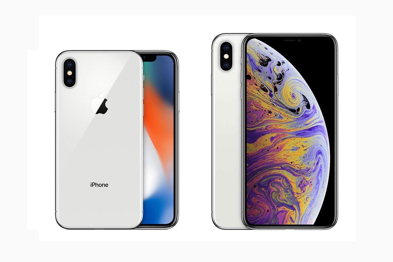 אייפון X מול אייפון Xs Max (תמונות: Apple)