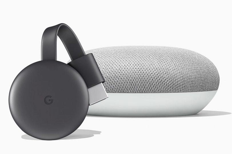 מזרים ה-Chromecast החדש (מקור גוגל)