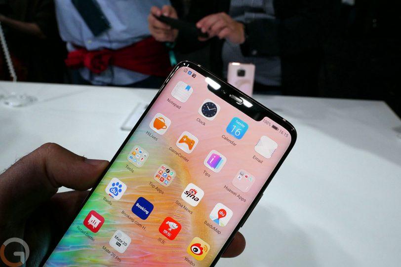 Huawei Mate 20 Pro (צילום: רונן מנדזיצקי, גאדג'טי)