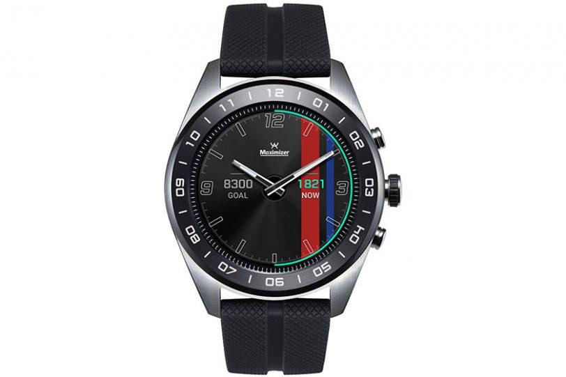 """LG Watch W7 Hybrid (תמונה: יח""""צ)"""